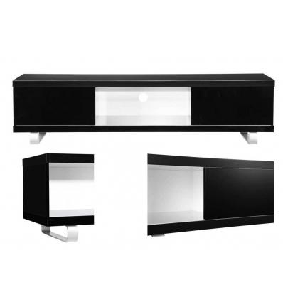 Mueble de tv moderno negro