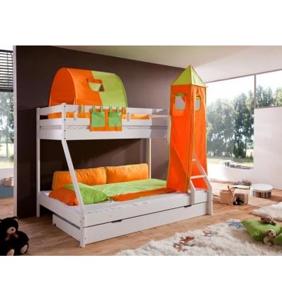 lit superpose matrimonial gigogne. Black Bedroom Furniture Sets. Home Design Ideas