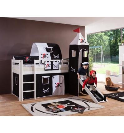 lit mi haut pour enfant. Black Bedroom Furniture Sets. Home Design Ideas