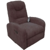 Fauteuil relaxation massant brun