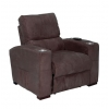 Fauteuil relaxation brun