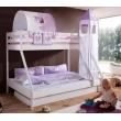 Linge de lit pour enfants lilas