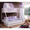 Roupa de cama infantil lila