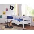 Linge de lit pour enfants bleu et blanc
