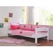 Linge de lit pour enfants avec des coeurs roses