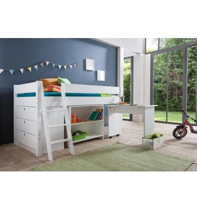 lit combine enfant. Black Bedroom Furniture Sets. Home Design Ideas