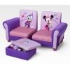 Canape minnie mouse avec pouf