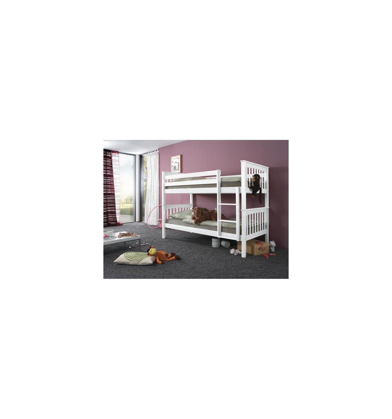 lit mezzanine. Black Bedroom Furniture Sets. Home Design Ideas