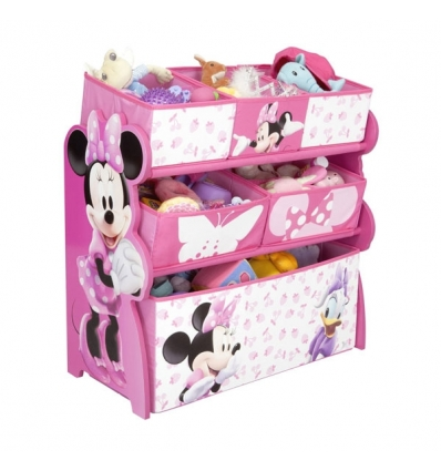 meuble rangement ludique minnie mouse. Black Bedroom Furniture Sets. Home Design Ideas