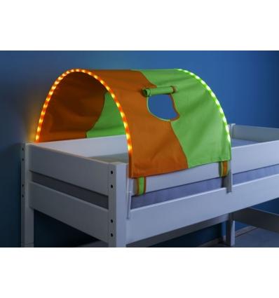 tente pour lit mi haut tente lit fille elegant lit enfant cocktail scandinave lit mi hauteur. Black Bedroom Furniture Sets. Home Design Ideas