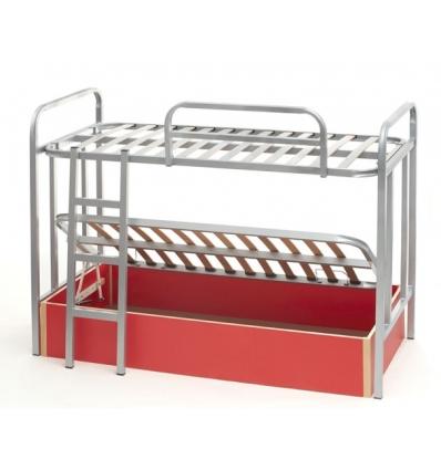 lit superpos avec lit coffre. Black Bedroom Furniture Sets. Home Design Ideas