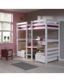 lits superposes enfants avec bureau