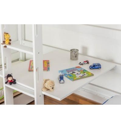 Lits superposes enfants avec bureau - Tablette pour lit superpose ...