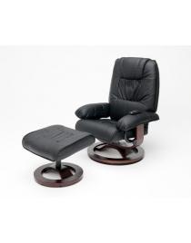 fauteuil relax avec pouf