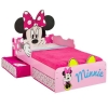 Minnie mouse lit avec tiroirs