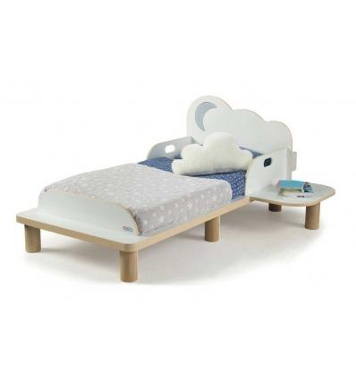 cama crianças com mesinha de cabeceira