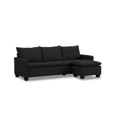 Canap avec chaise longue for Meuble corporel