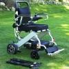 cadeira de rodas dobravel em aluminio