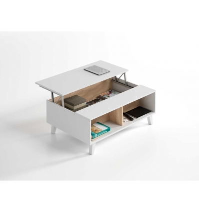 Table relevable nordique for Meuble corporel