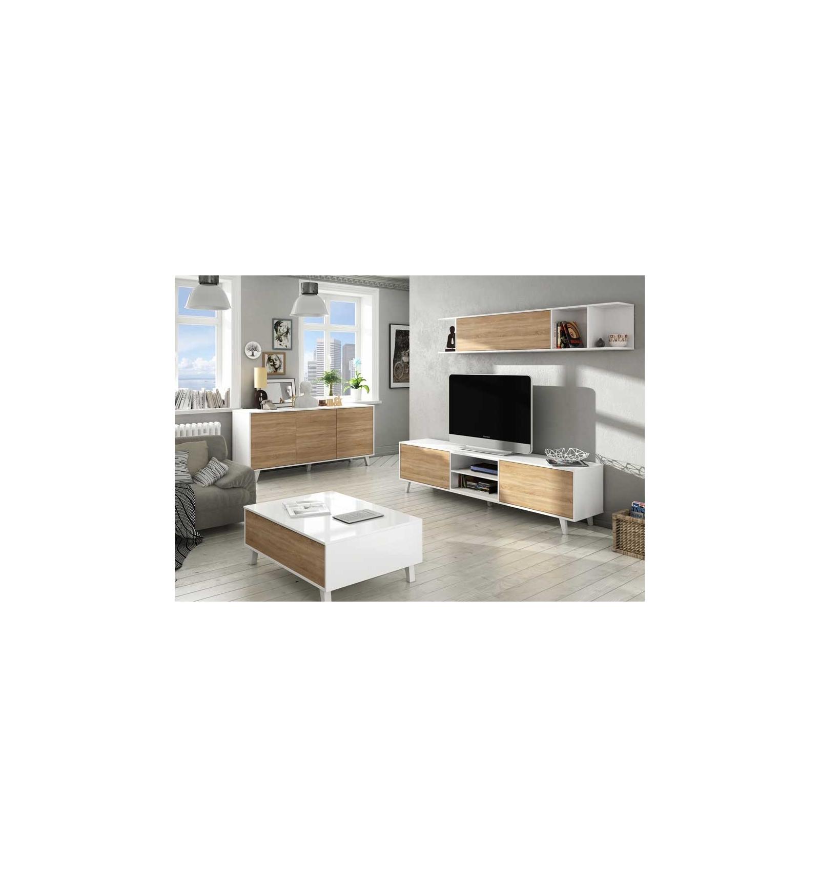meuble t l de style nordique. Black Bedroom Furniture Sets. Home Design Ideas