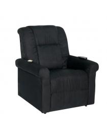 fauteuil releveur noir