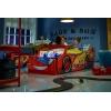 Cama coche Rayo McQueen con luz
