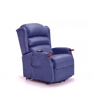 Fauteuil de massage releveur bleu