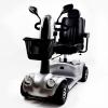 Elektro-Scooter mit Lichtern