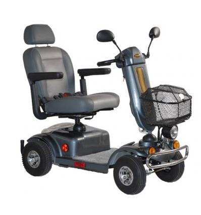 Scooter électrique noir