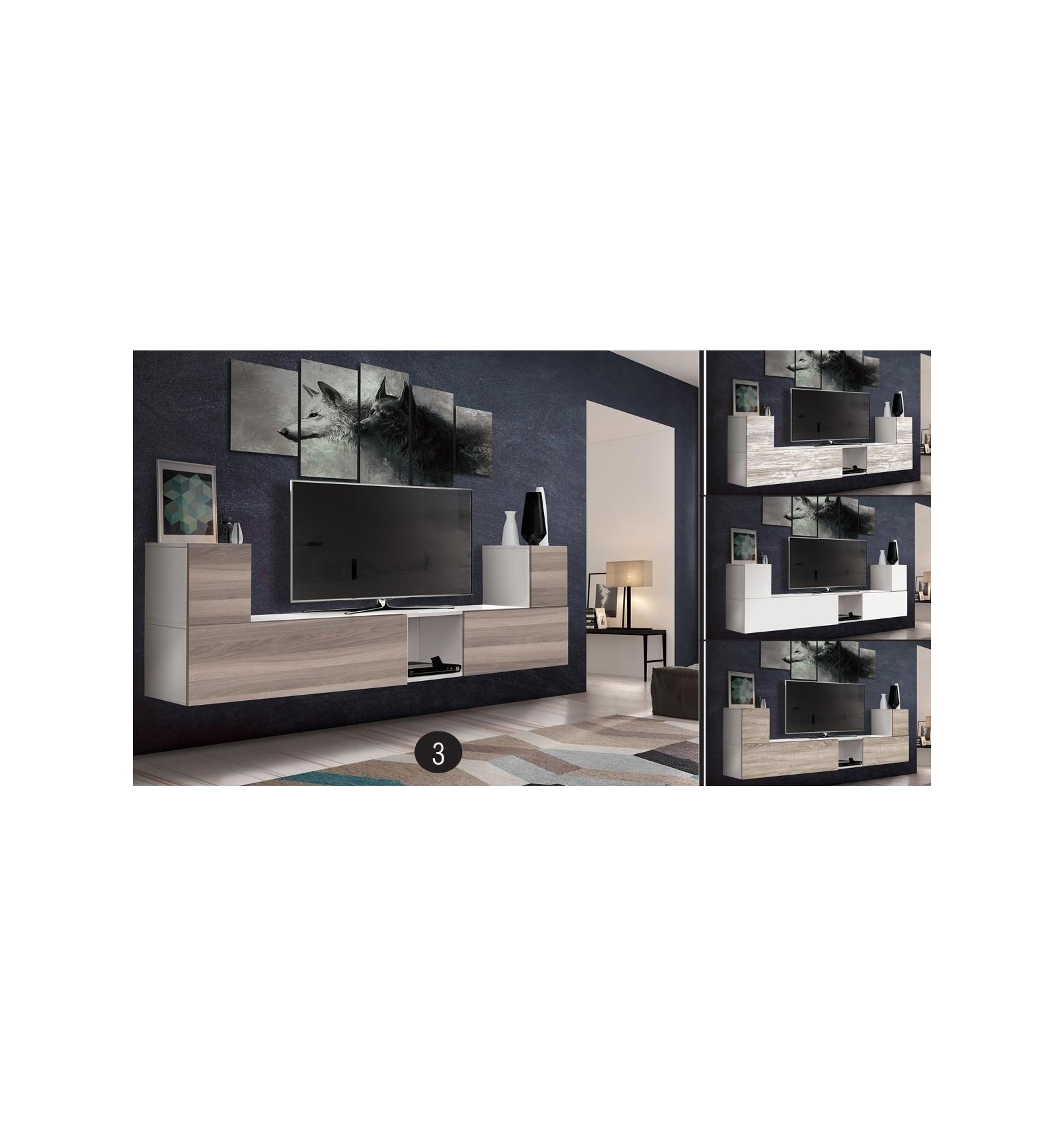meuble modulaire de salon twist. Black Bedroom Furniture Sets. Home Design Ideas