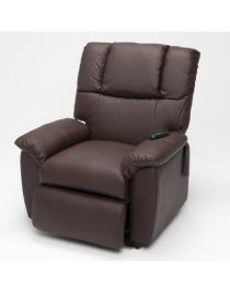fauteuil releveur electrique marron