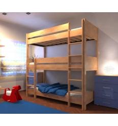 lits superpos s triples befara. Black Bedroom Furniture Sets. Home Design Ideas