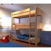 Dreier etagenbett aus holz