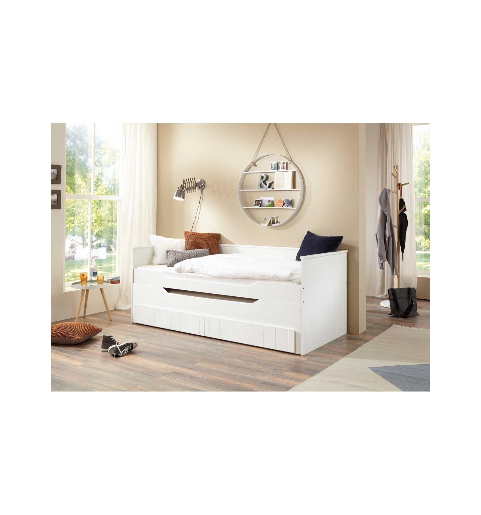 Kojen Bett mit Schubladen