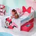 CAMA COM GAVETAS MINNIE MOUSE