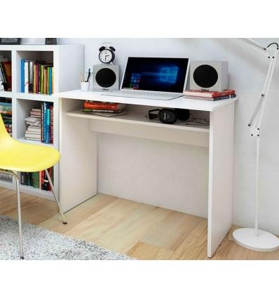 Bureau avec étagère inférieure