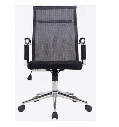 Sedia dirigenziale con schienale medio