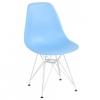 Chaise bleu clair