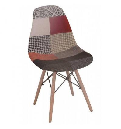 Cadeira nordica patchwork
