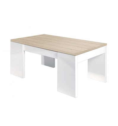 Mesa con almacenaje