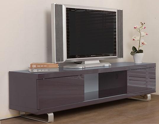 Meuble tv design laque blanc amovible troye - Meuble tv rotatif ...