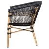 Cadeira imitação de bambu