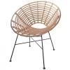 Stuhl aus synthetischem Rattan