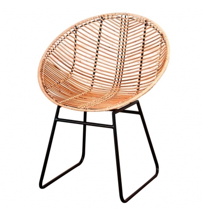 Silla Rattan natural