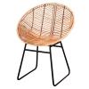 Cadeira rattan natural