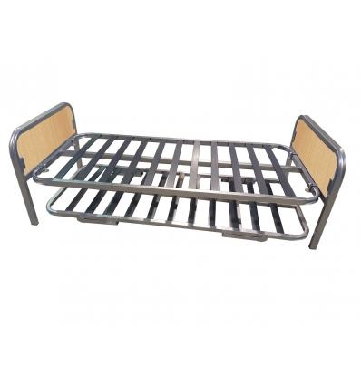 Litera con cama doble