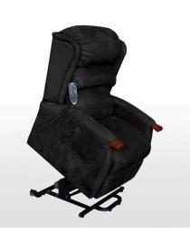 fauteuil releveur 2 moteurs et massage noir