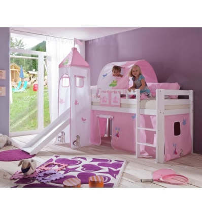lit mi haut pour enfant. Black Bedroom Furniture Sets. Home Design Ideas
