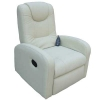 Fauteuil relaxation massant blanc