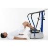 Plataforma vibratória com o acessório para o exercício braços